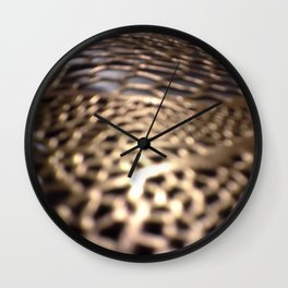 Night Lake Wall Clock