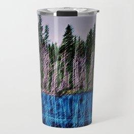 Church Pond White Mountains, New Hampshire Landscape Painting by Jeanpaul Ferro Travel Mug