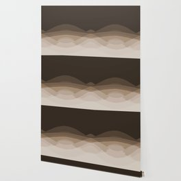 Espresso Brown Ombre Wallpaper