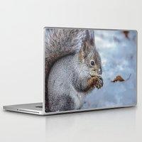 squirrel Laptop & iPad Skins featuring Squirrel by Svetlana Korneliuk