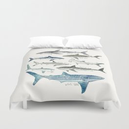 Sharks Duvet Cover