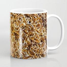 Metal rings for needlework Coffee Mug