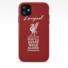 Slogan: Liverpool iPhone Case