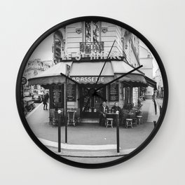 Brasserie Paris Wall Clock