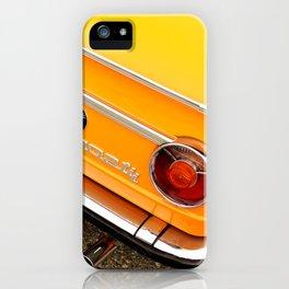 Orange Gum iPhone Case