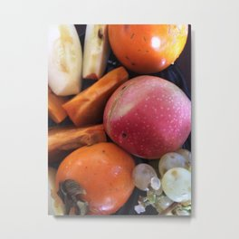 Fruits #society6 #decor #buyart #artprint Metal Print