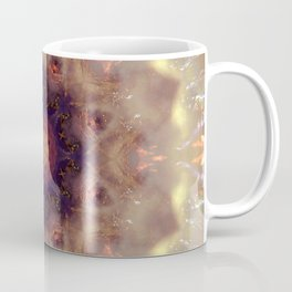 Mystical Mountain Mandala Abstract Design Coffee Mug