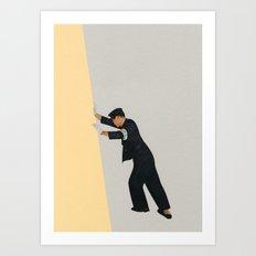 Pushing Boundaries Art Print