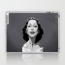 Hedy Lamarr Laptop & iPad Skin