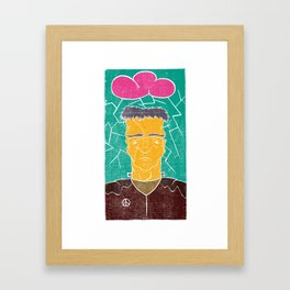 Franky Jr. Framed Art Print