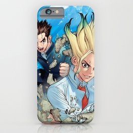 Dr. Stone Senku iPhone Case