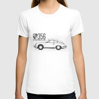 porsche T-shirts featuring porsche 356 by kartalpaf