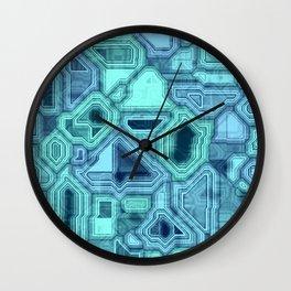 Blue Room Wall Clock