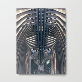 Atlanta Marriott Marquis Metal Print