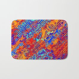 Abstract Pattern Bath Mat