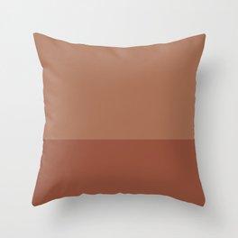 SIENNA x TERRACOTTA Throw Pillow