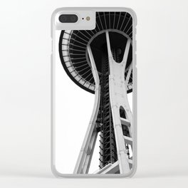Variation on a Needle Clear iPhone Case