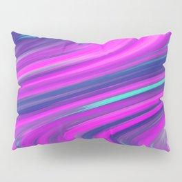 Neon Swirls Pillow Sham