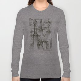 Tauremorna Black-Forest Swords Long Sleeve T-shirt