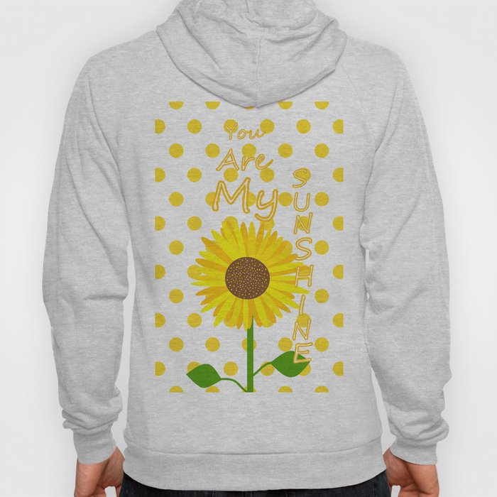 Inspired Sunshine Quote Hoody