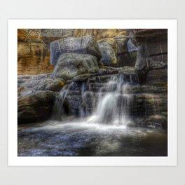 Calm Waters - Waterfall Art Print