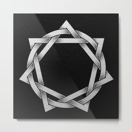 Septagram Metal Print
