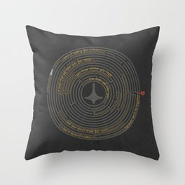 I'll Tell You A Riddle Throw Pillow