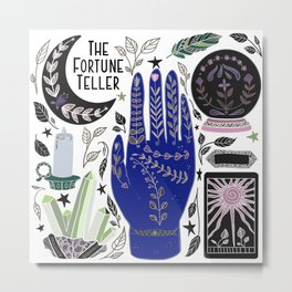 The Fortune Teller Metal Print