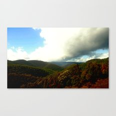 Alpine Ranges - Australia Canvas Print