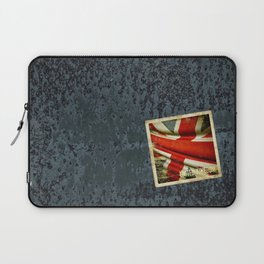 Sticker with UK flag Laptop Sleeve