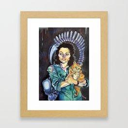 One Bad Mother Framed Art Print