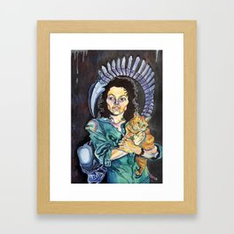 One Bad Mother Framed Art Print