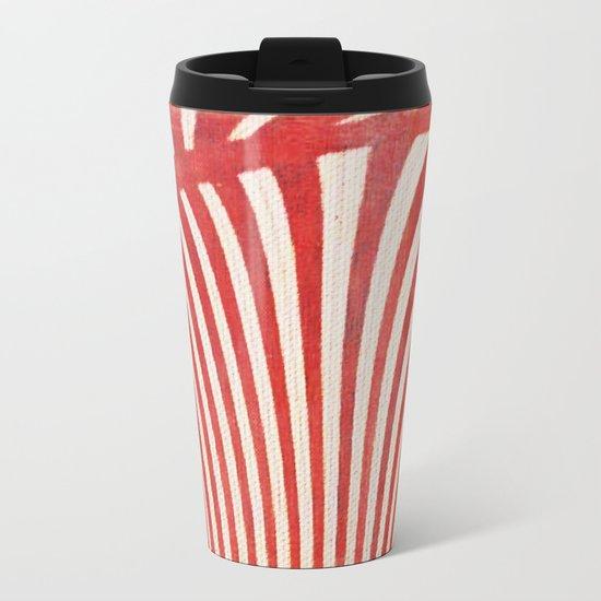 A Mess of Zebras Metal Travel Mug