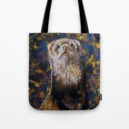 Regal Ferret Tote Bag