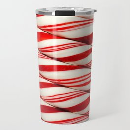 Candy Cane Pattern Travel Mug