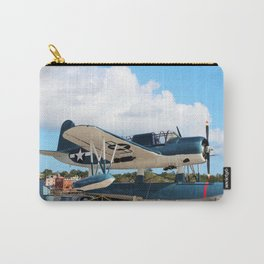 Seaplane On Battleship Carry-All Pouch