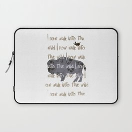 Walk into the Wild Laptop Sleeve