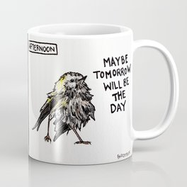 Bird no. 75: Maybe Tomorrow Coffee Mug