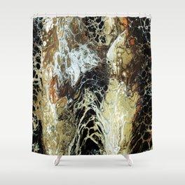 FLUID SIXTEEN Shower Curtain