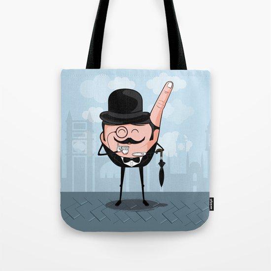Sir Pinky Tote Bag