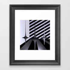 polynomial dance Framed Art Print