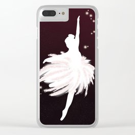 Space Ballerina (1 of 3) Clear iPhone Case