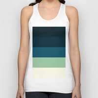 nautical Tank Tops featuring Nautical Stripes by SimplyChic
