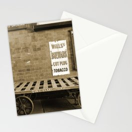 Vintage Railway Signs in Sepia Stationery Cards