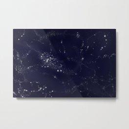 Milky Way galaxy space Metal Print