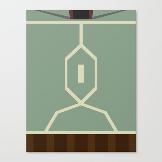 Star Wars - Boba Fett Canvas Print