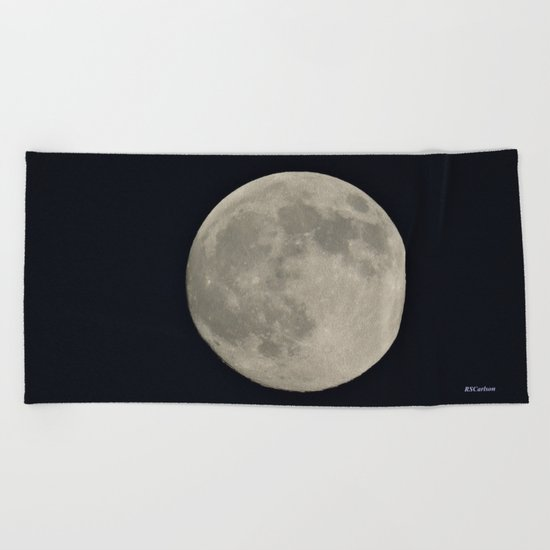 Another August Moon Beach Towel