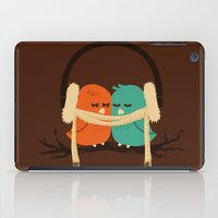 birds iPad Cases featuring Baby It's Cold Outside by Picomodi