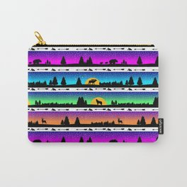 animal silhouette pattern Carry-All Pouch