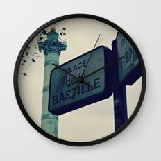 Bastille Wall Clock